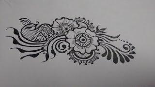 Download Henna Designs On Paper Video Sosoclip Com