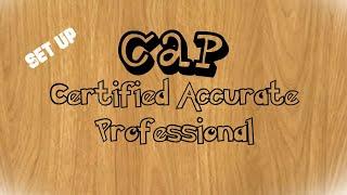 Accurate_Tutorial Ujian CAP [Certified Accurate Professional] #2 Setup DataBase