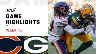 Bears vs. Packers Week 15 Highlights | NFL 2019