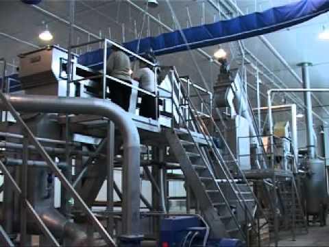Линия производства картофельных хлопьев 550-1100 кг/ч