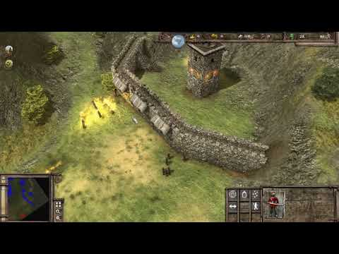 StrongHold 3 Gold | Military Campaign Walkthrough | Part 8 [1080p60] |