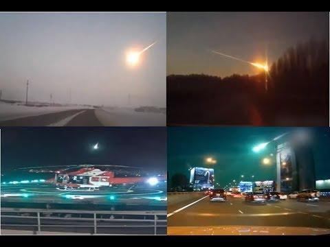 Kameralara Yakalanan İnanılmaz 10 Göktaşı ve Meteor Düşmesi Videoları
