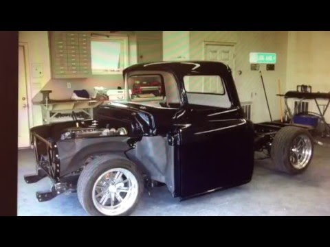 1957 chevy 3100 street rod pickup truck ls1 corvette engine youtube. Black Bedroom Furniture Sets. Home Design Ideas