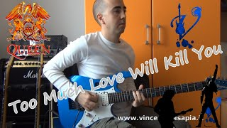 Queen - Too much love will kill you (Guitar solo by Vincenzo Pisapia)