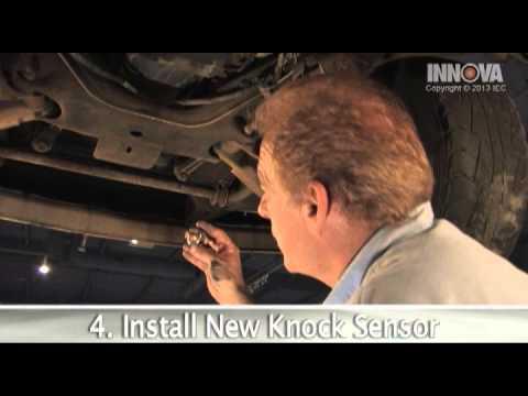 How to change Knock Sensor - 1997 GMC Sierra - YouTube