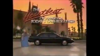 Chevrolet 1990 Lumina - Disney MGM Studios Commercial