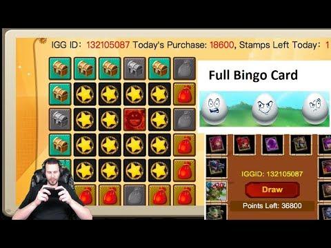 JT's Main Events Bingo Blast Point Arcade Egg Smash Castle Clash