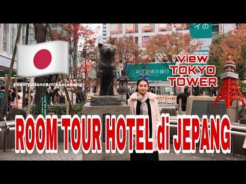 VLOG JEPANG : ROOM TOUR HOTEL DI JEPANG ( VIEWNYA TOKYO TOWER) - YouTube