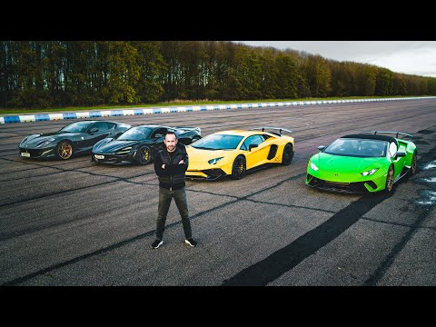 THE ULTIMATE SUPERCAR DRAG RACE PART IV - XMAS SPECIAL