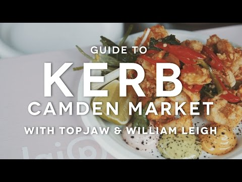 FOODIEHUB Guide to KERB Camden Market with TOPJAW and William Leigh | London's Essential Eats
