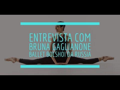 Entrevista com Bruna Gaglianone do Ballet Bolshoi de Moscow - Joinville 2017