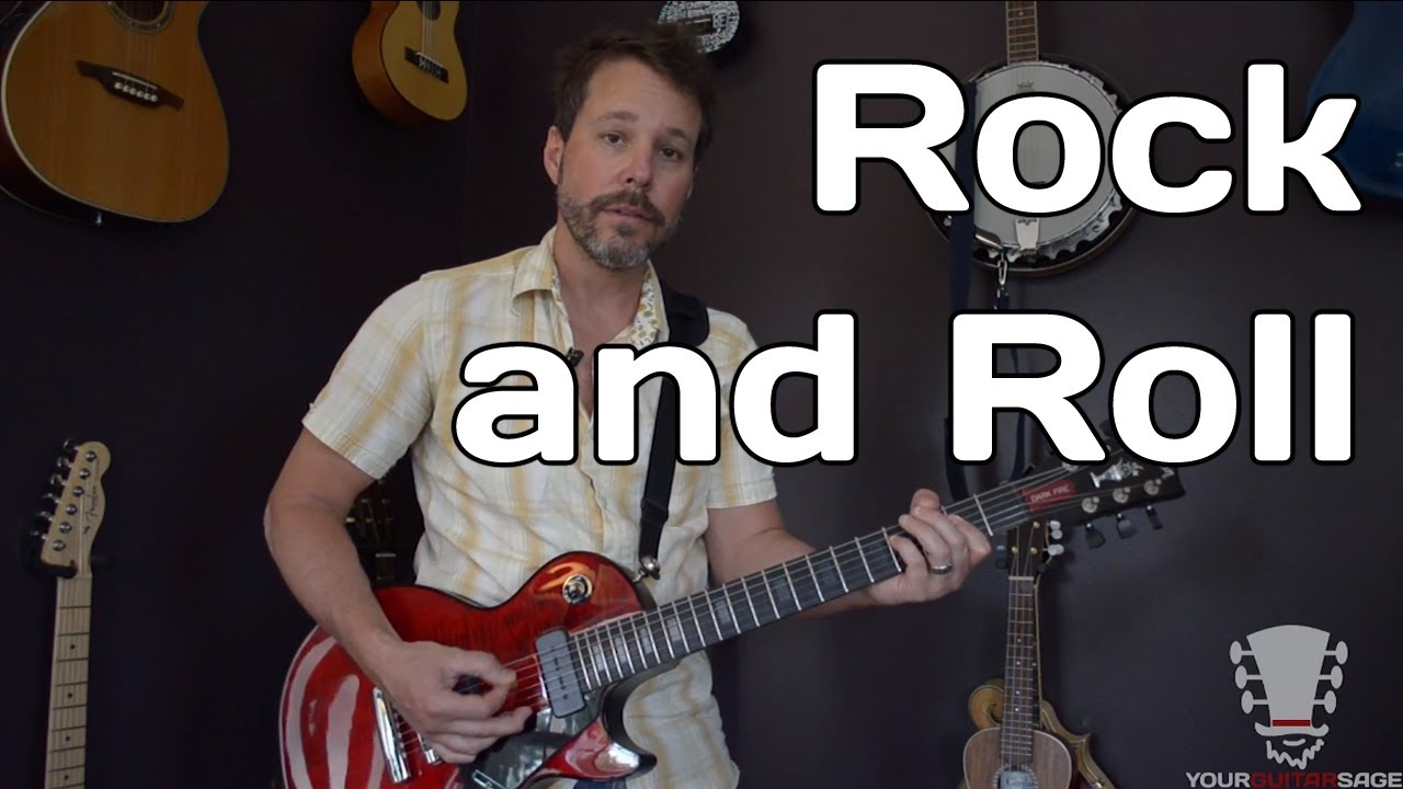 how to play rock and roll by led zeppelin guitar lesson youtube. Black Bedroom Furniture Sets. Home Design Ideas