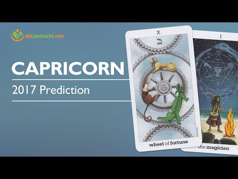 Capricorn 2017 Forecast | Extreme Luck Success & Prosperity