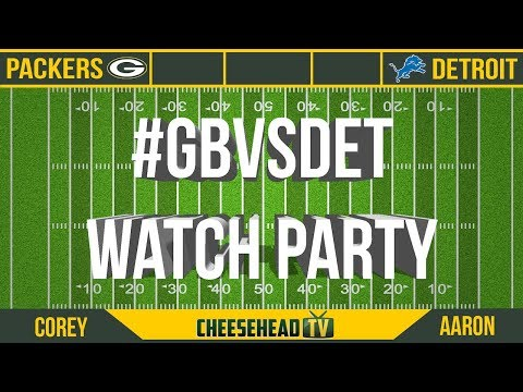 129450f3a Packers Watch Party: Green Bay Packers vs Detroit Lions - YouTube