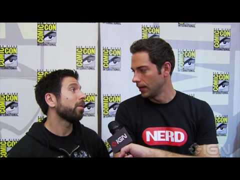 Chuck TV Interviews - Zachary Levi & Joshua Gomez  Comic-Con