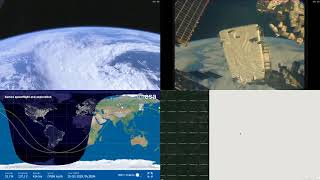 Passing Over Asia - NASA/ESA ISS LIVE Space Station With Map - 210 - 2018-10-15