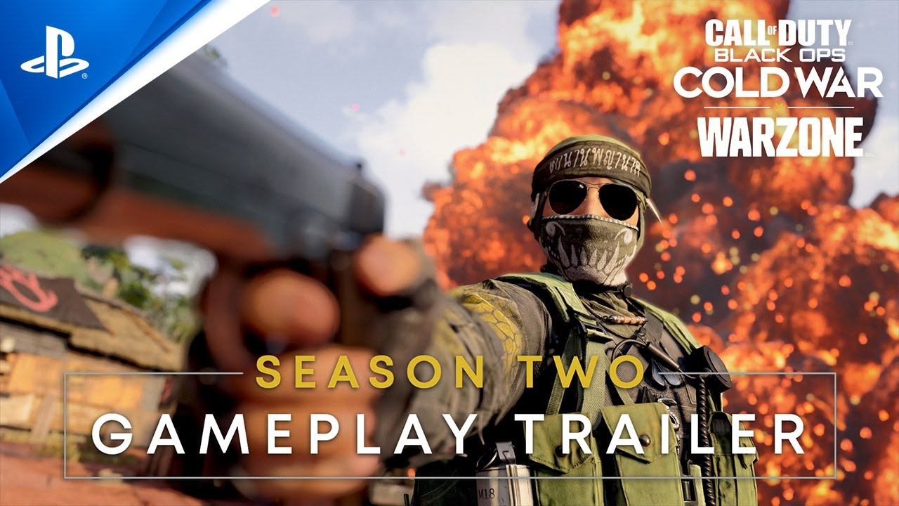 Call of Duty Black Ops Cold War Season 2 gameplay trailer
