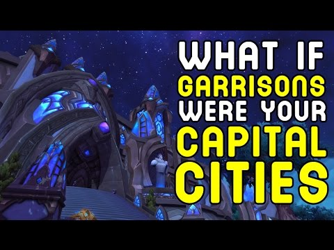 What if Garrisons were your Capital Cities !!