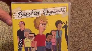 Napoleon Dynamite: The Complete Animated Series DVD Unboxing