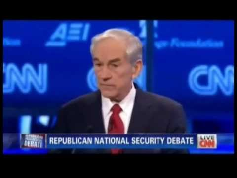 Ron Paul On Israel And Foreign Aid CNN Debate 11/22/11
