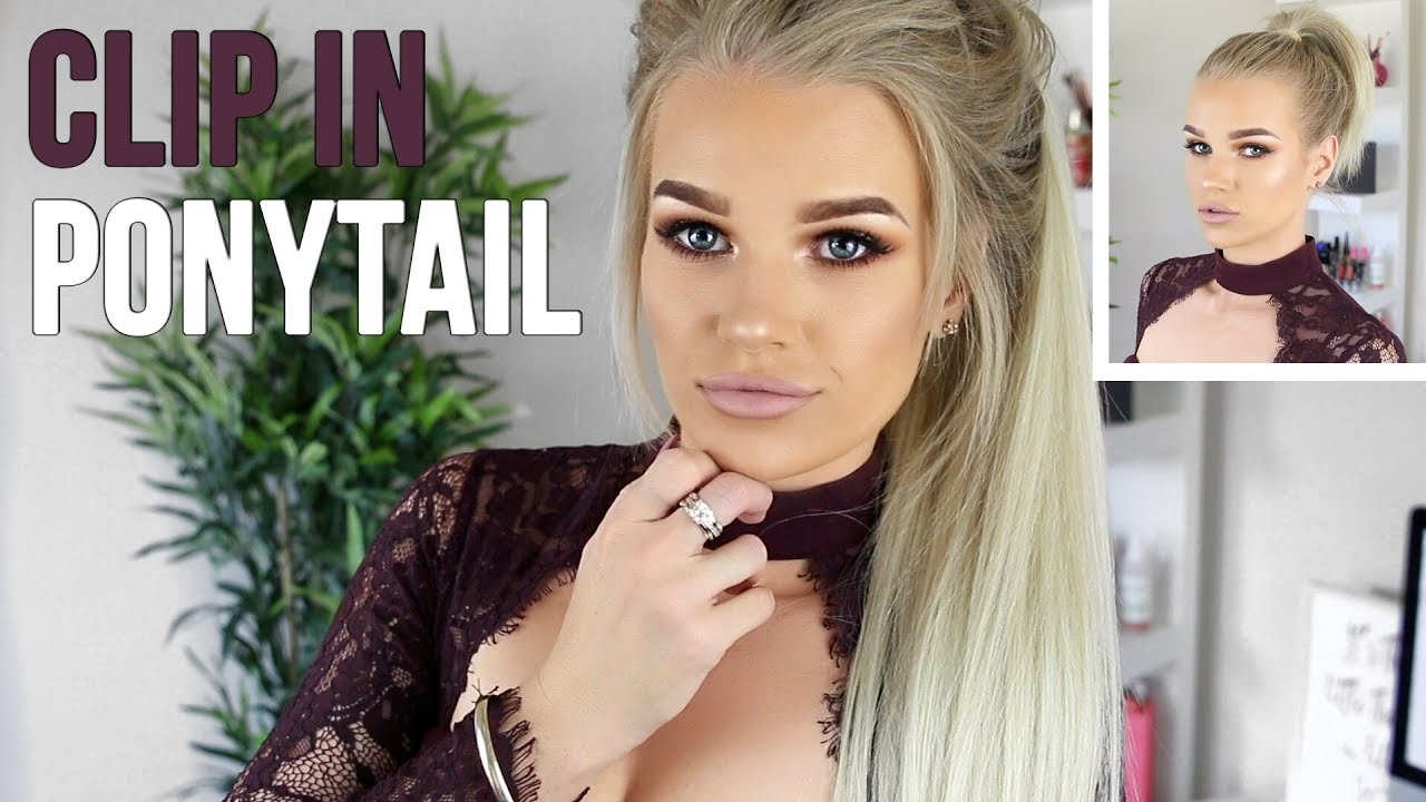 Clip In Ponytail Extensions Youtube