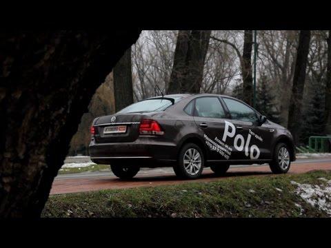 Volkswagen Polo Фольксваген Поло седан тест драйв Автопанорама
