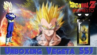 UNBOXING #6 VEGETA SSJ Manga Dimensions Grandista Banpresto