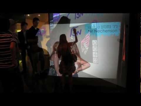 Virtual Graffiti Wall
