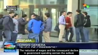 Economic crisis in Spain causes brain drain