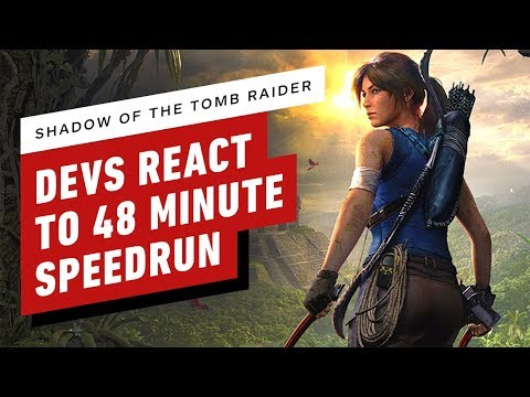 Shadow Of The Tomb Raider Developers React To 48 Minute Speedrun