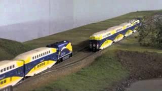 HO MN Northstar Commuter Rail