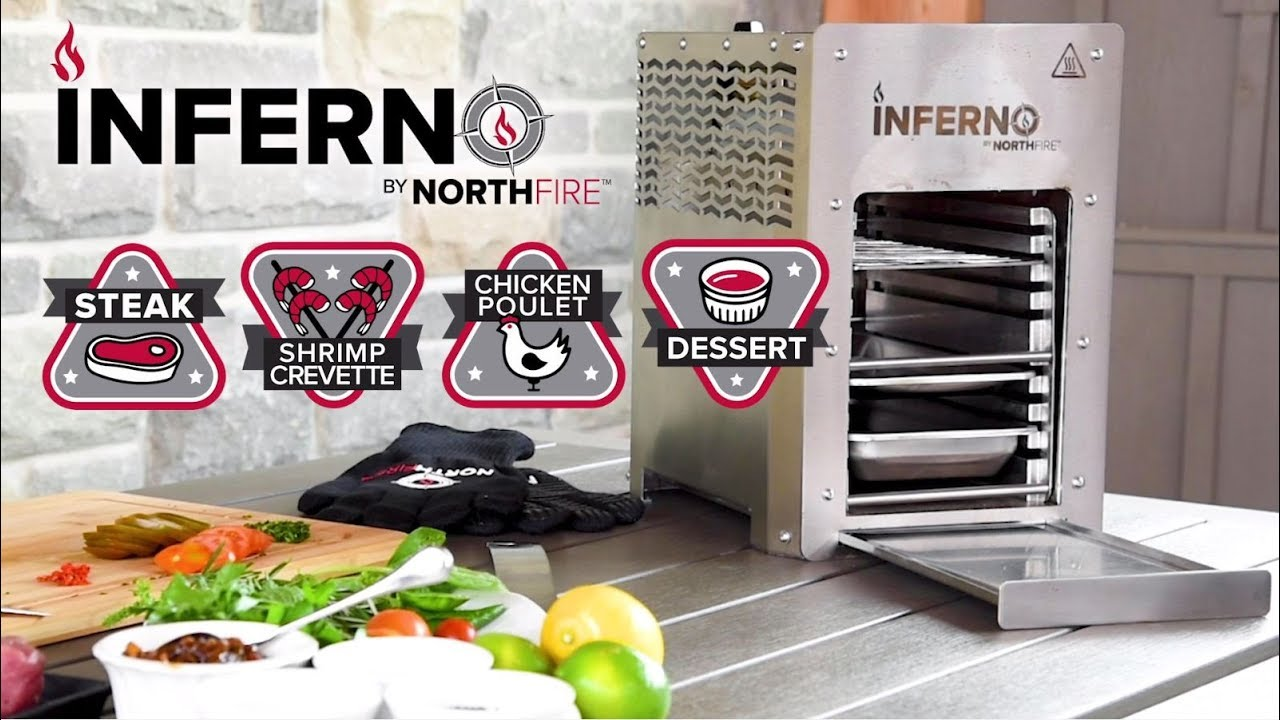 Four Unique Dishes with the Inferno Infrared Grill