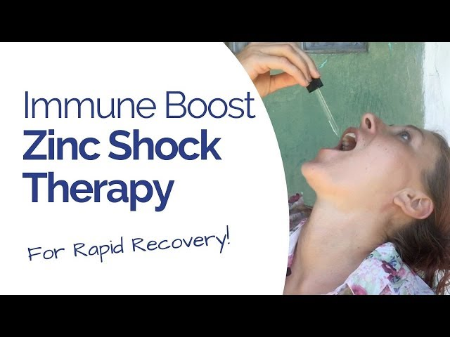 Zinc Shock Therapy - for Rapid Recovery and Immune Power (Medical Medium)