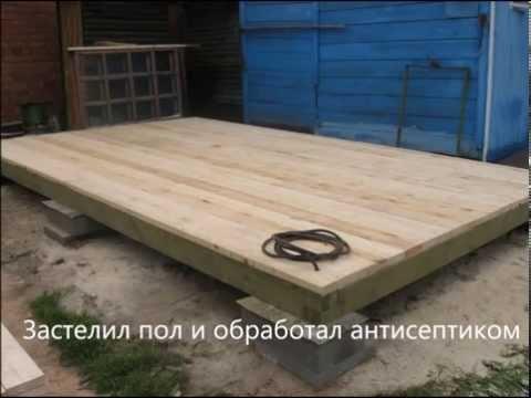 видео: Как построить сарай из osb своими руками.