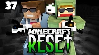 Er sieht mich einfach NICHT! - Minecraft RESET II #37 | DNER & UNGE!