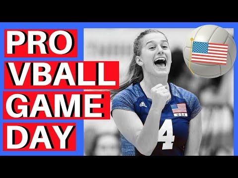 GAME DAY: PRO VOLLEYBALL EDITION