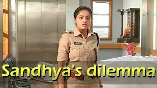 Find out what has left Sandhya in dilemma