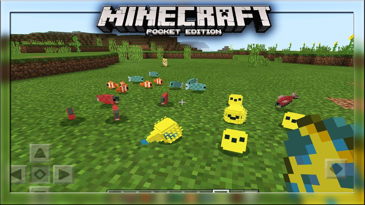 New mcpe fish update minecraft pe pocket edition for How to fish in minecraft pe
