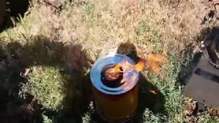 Что будет если бросить горящий окурок в бензин