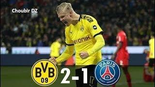 Dortmund Vs PSG  2-1 UEFA Champions League 18/02/2020