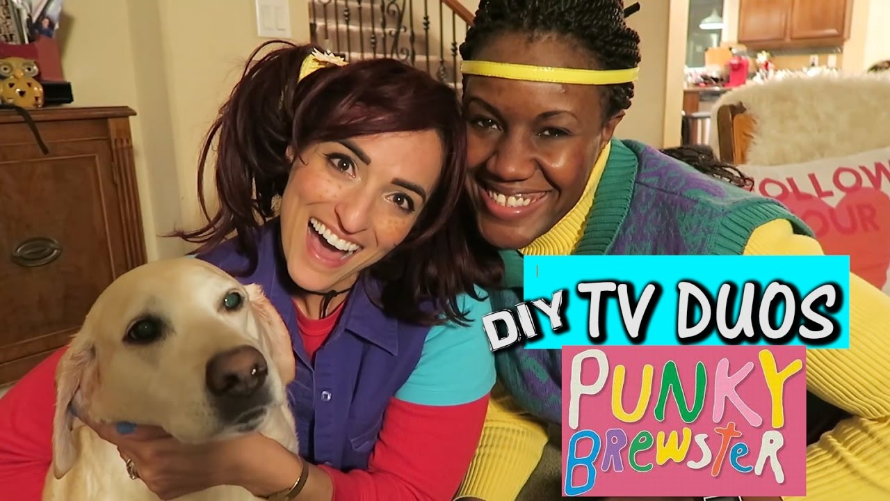 diy punky brewster halloween costume | tv duos | come thrifting with