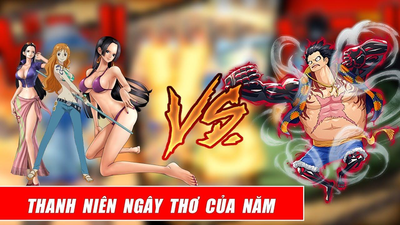 Song đấu One Piece  – Luffy thử thách ải mỹ nhân kế