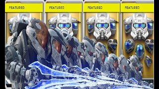 Halo 5: Classic Helmet's REQ Pack Opening