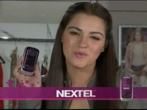 Maite Perroni - Comercial para Nextel