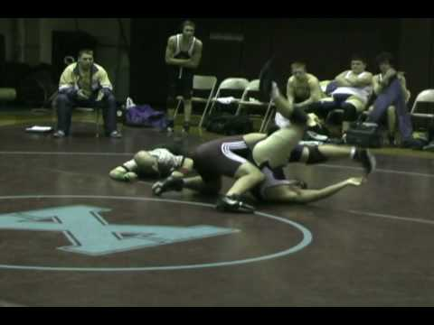 Xavier Wrestling - Anthony Martorano returns to action with a win by pin