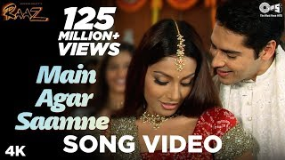 Download Mp3 Main Agar Saamne Song Video - Raaz | Dino Moreo & Bipasha Basu | Abhijeet &a