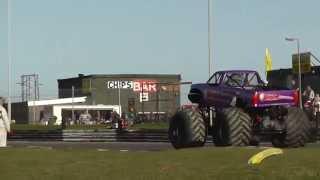 Monster Truck and Caravan Destruction Derby at Skegness Stadium