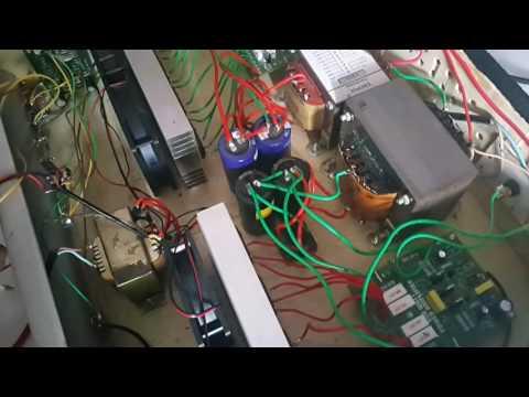 Test Power Amplifier 2x 600 WATT OCL 4 Set Sanken