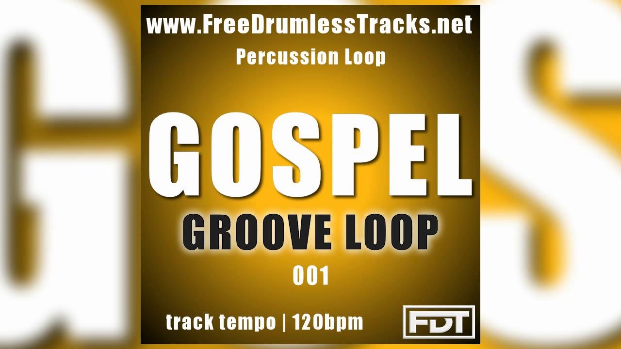 Gospel Groove Loop 001 - Percussion Loop (www FreeDrumlessTracks net)