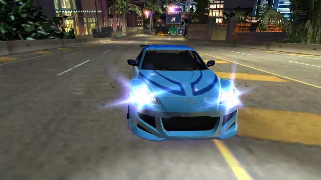 Need For Speed Underground 2 Neela S Car Mazda Rx 8 Tokyo